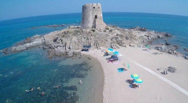 La spiaggia dell'hotel Hotel La Torre